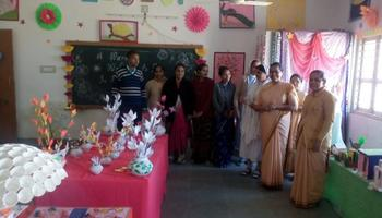 Glimpses of the 'Art Gallery' of Bethany Convent Secondary School Vadgam, Gujarat