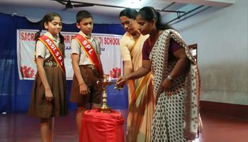 Investiture Ceremony at Sacred Heart's Higher Primary School,Kulshekar