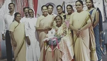 Send off programme of Sr Roshni BS, the Headmistress of St Raymond's High School, Vamanjoor