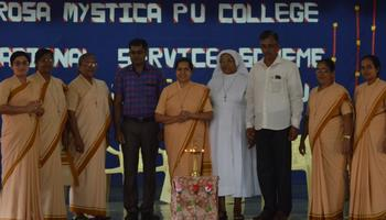 Golden Jubilee of NSS at Rosa Mystica PU College