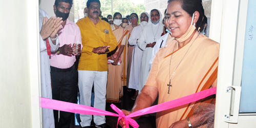 Divine Mercy Homoeo Clinic and Counselling Centre inaugurated at Thokkottu