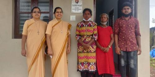 Inauguration of 5th Centenary House at Immaculate Heart of Mary Church, Nakre by Bethany Sisters of Mangalore Province