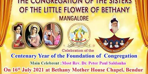 LIVE : Celebration of the Centenary Year of Foundation of Bethany Congregation on 16th July 2021 at 9.20 am